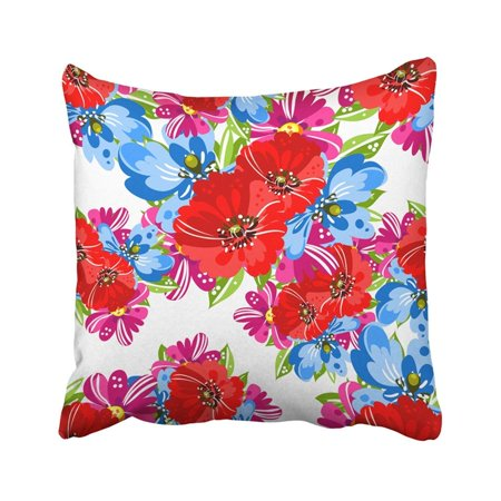 BPBOP Beautiful Abstract Elegance With Floral Beauty Blossom Botanical Bouquet Elegant Flower Pillowcase Pillow Cover 18x18 inches ()
