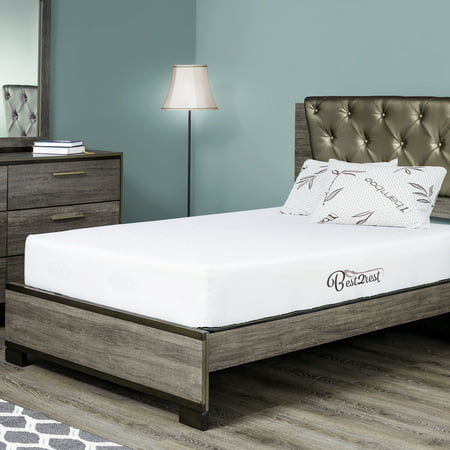 best 2 rest cal king memory foam mattress 10 inch with cool gel infused - California King Memory Foam Mattress