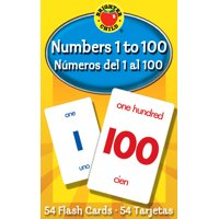 Numbers 1 to 100 Flash Cards : Numeros del 1 al 100