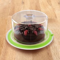 PlateTopper Universal Cake Topper Microwave Cover Leftover Lid Airtight