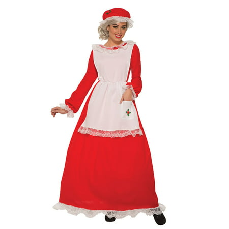 Womens Traditional Mrs Claus - Traditional Mrs Claus Costume