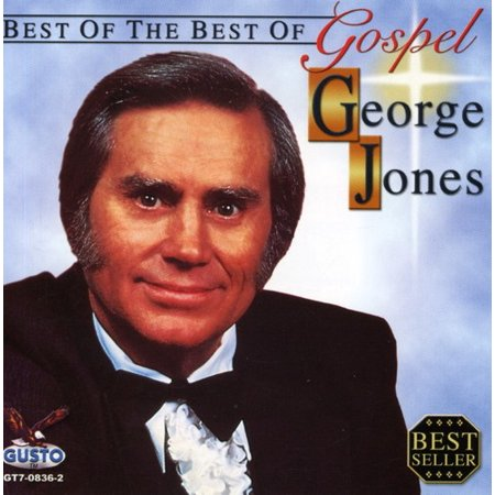 Best of the Best of Gospel George Jones (CD) (George Best Le Cinquieme Beatles)