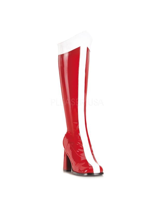 GOGO305/RW Funtasma Women's Boots RED/WHITE Size: 5