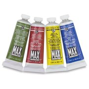 Grumbacher Max Artists' Water Miscible Oil Color - Burnt Sienna, 37 ml tube