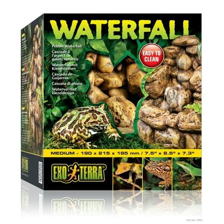 (Exo Terra Waterfall Reptile Terrarium Humidifier, Medium)