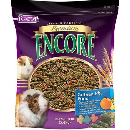 Encore Premium Guinea Pig Food, 8 lb.