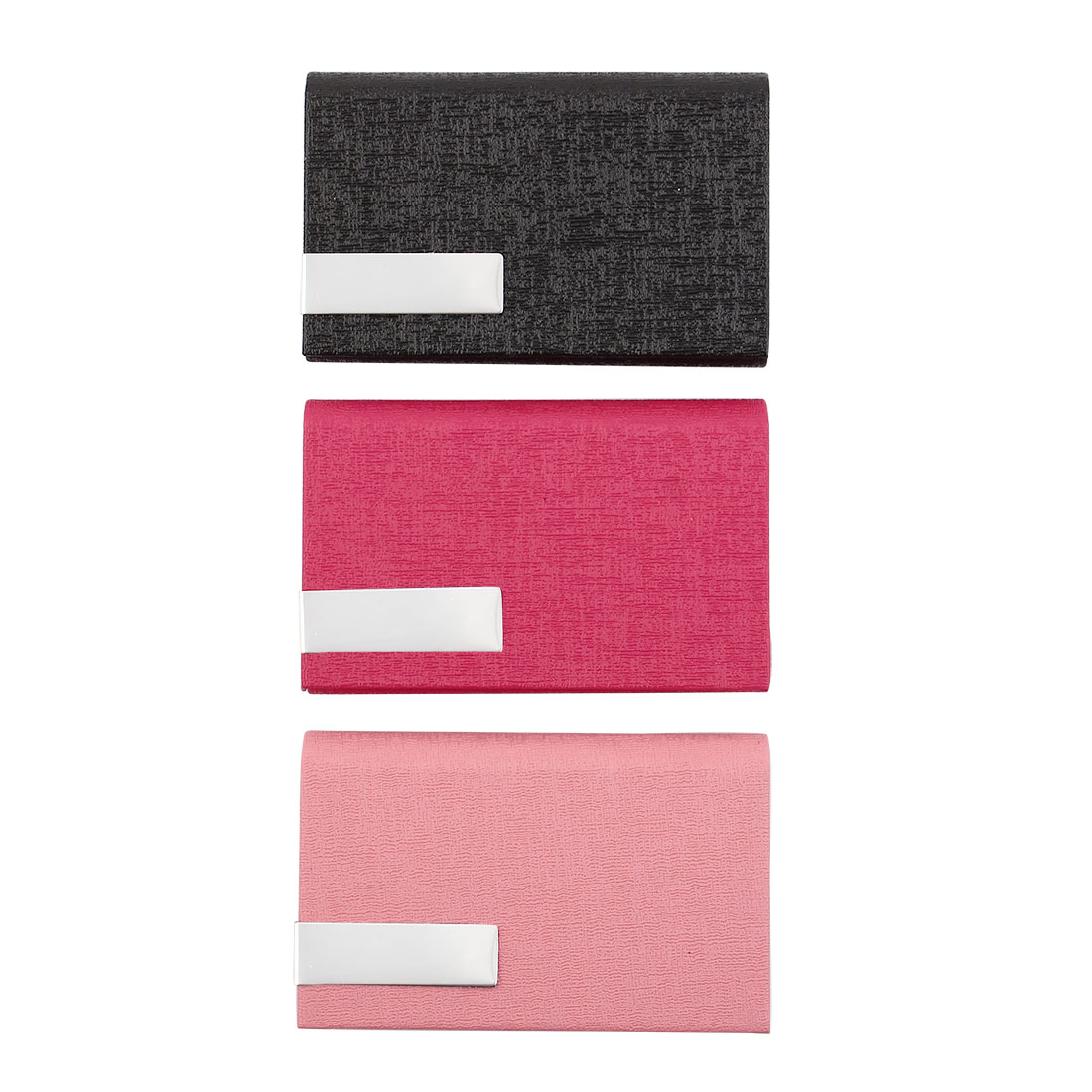 Outdoor Travel Business Name ID Card Case Holder Storage Box Organizer 3 Pack