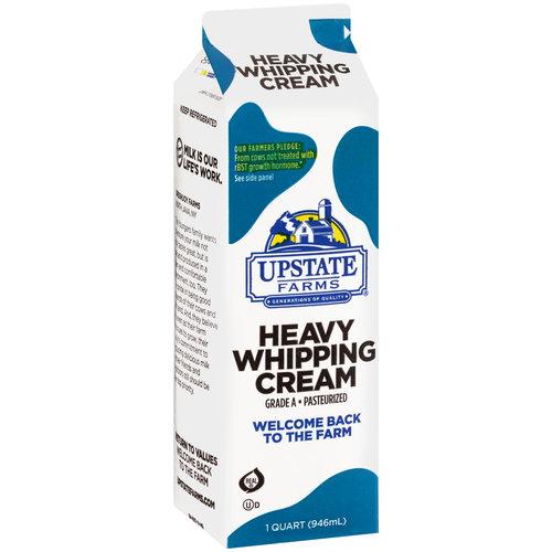 Upstate Farms Heavy Whipping Cream, 32 fl oz