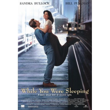 While You Were Sleeping  1995  27X40 Movie Poster