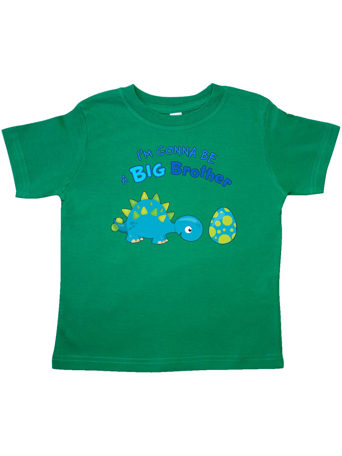 Happy Dinosaur Future Big Brother Toddler T-Shirt