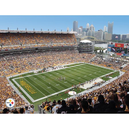 Image of Artissimo Designs NFL Steelers Stadium Canvas, 22x28