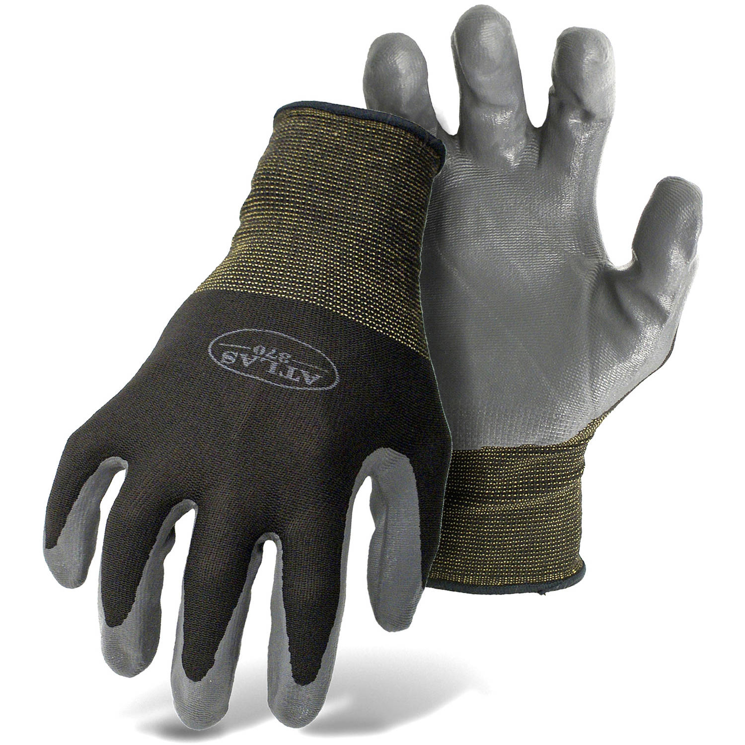 Atlas Glove 8441S Small Atlas-Fit Nitrile Tough Gloves