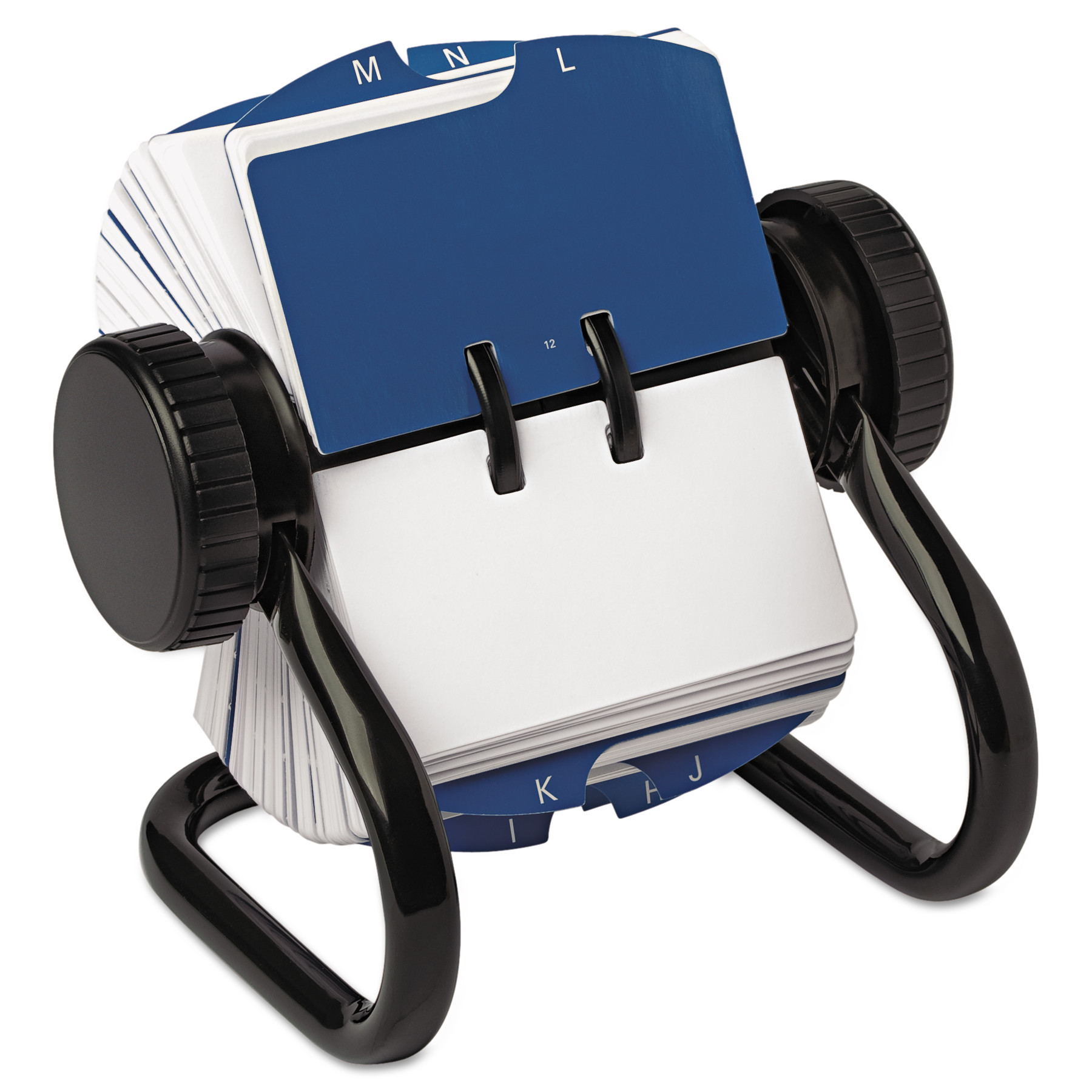 rolodex open rotary card file black walmart