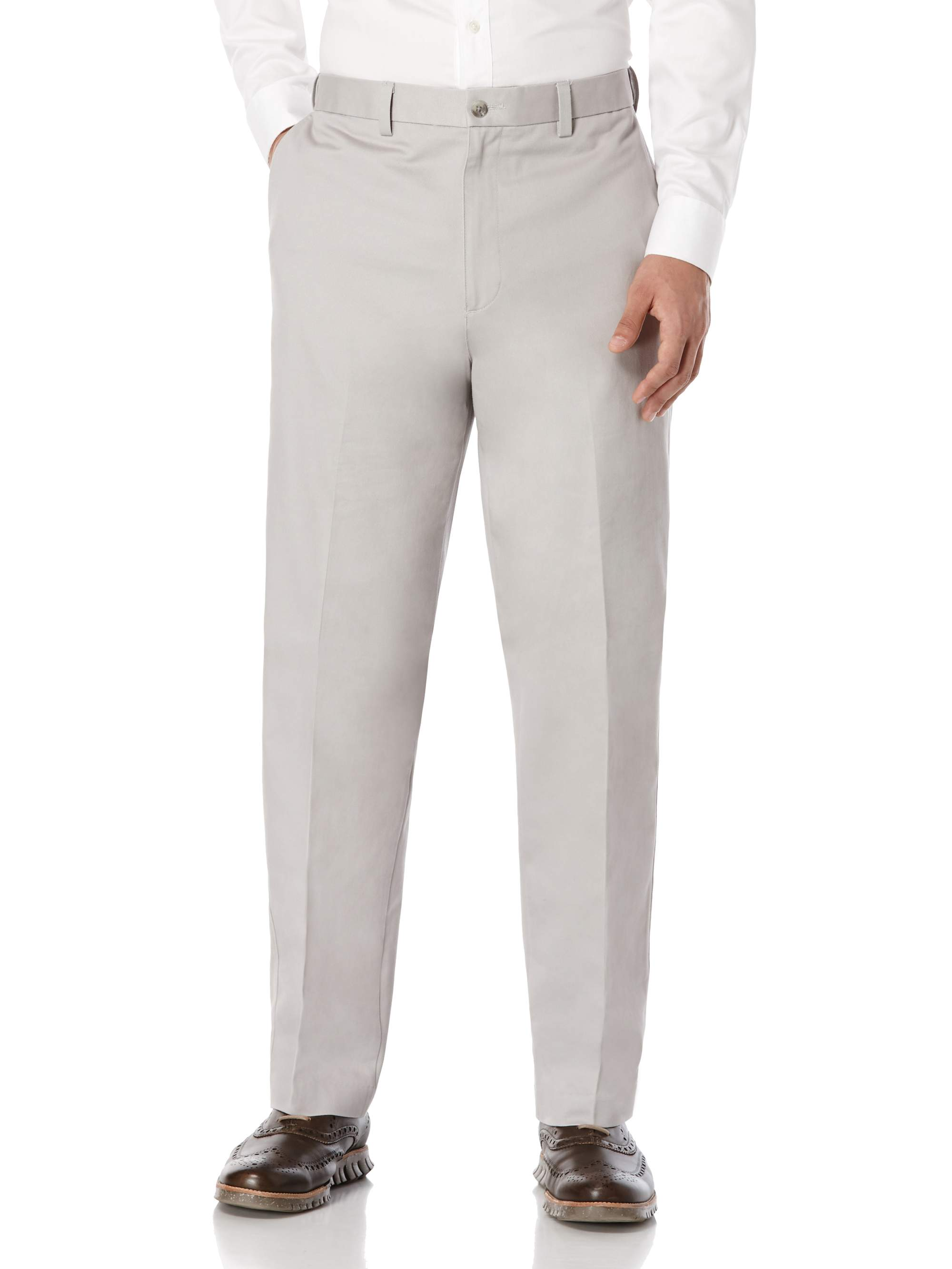 Men's Flat Front Performance Chino Pants