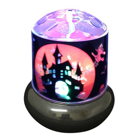 Creative Motion Halloween Haunted House Rotating Light - Creative Art Ideas For Halloween