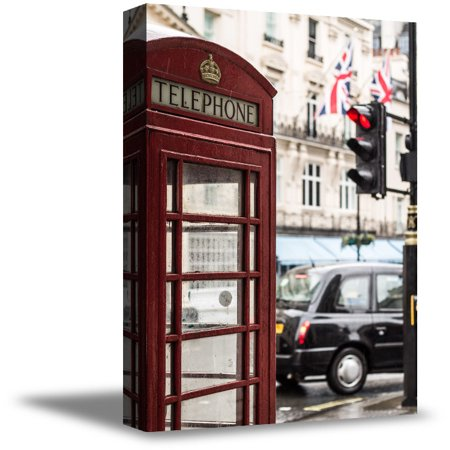 Awkward Styles London Telephone Booths Posters UK Decor for Home Red Booth Canvas London Printed Photo Art London Telephone Booths Canvas Art for Office Decor London Canvas Decor London Wall Art Decor - Booth Decor Ideas