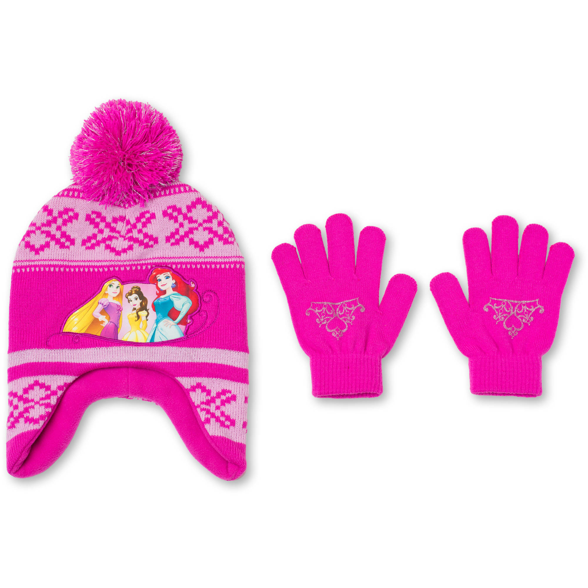 Princess Hat And Glove 2Pc Set