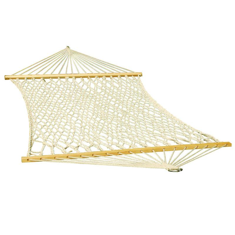 11' Deluxe Polyester Rope Hammock