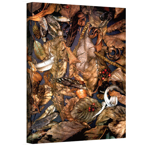 "ArtWall George Zucconi ""Autumn Sonata"" Wrapped Canvas"