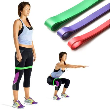 Exercise Resistance Loop Bands Set Of 3 Light Medium Heavy Exercise Bands   Assisted Pull Up Bands   Powerlifting Bands