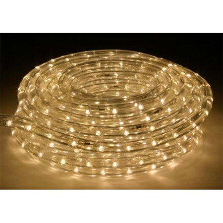 American Lighting Lr Led Ww 15 Ft Warm White 3000k Flexible Rope Light Kit With Mounting Clips