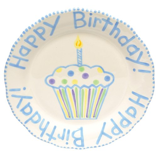 Thompson and Elm Baby Happy Birthday Plate