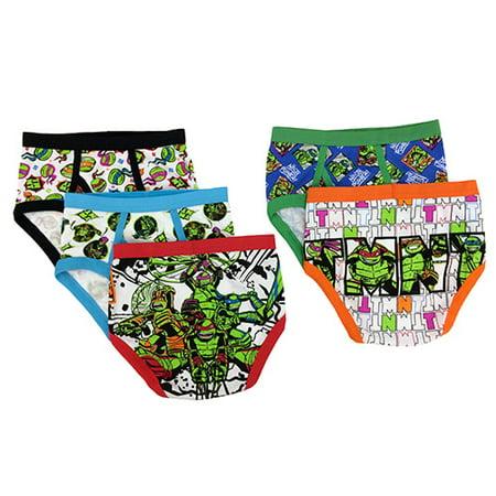 Teenage Mutant Ninja Turtles Boys Underwear 5 Pack