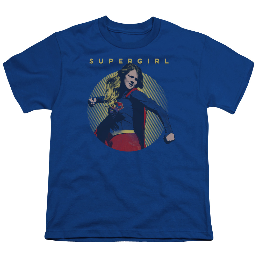Supergirl Classic Hero Big Boys Shirt