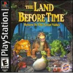 Land Before Time Return to the Great Valley - Playstation PS1