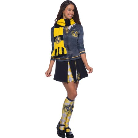 The Wizarding World Of Harry Potter Hufflepuff Deluxe Scarf Halloween Costume - Harry Potter Halloween Scarf
