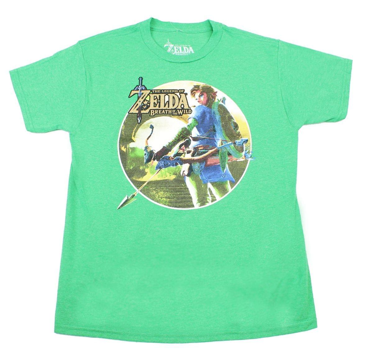 Zelda Breath of The Wild Link Bow and Arrow Kids Sweatshirt