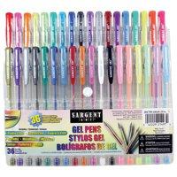 Sargent Art Gel Pen Set 36/Pkg-Assorted
