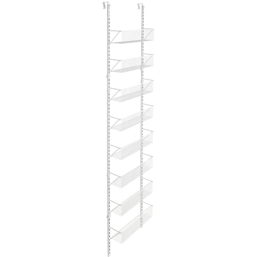 ClosetMaid Over The Door Basket Organizer, White