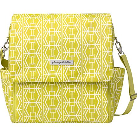 Petunia Pickle Bottom Boxy Backpack Diaper Bag In Electric Citrus