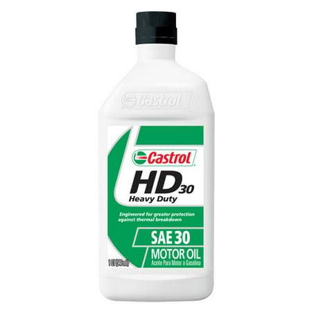 Castrol 30w Conventional Motor Oil 1 Qt