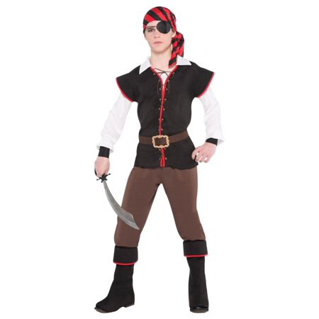 Pirate Buccaneer Rebel of the Sea Boys Costume - Pirate Costume Ideas For Men