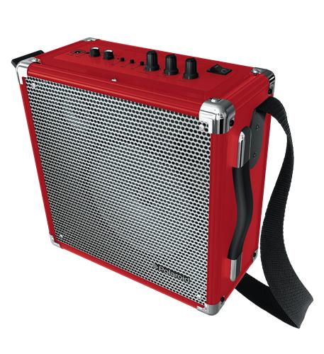 Wireless Pa W/ Bt Speaker Red