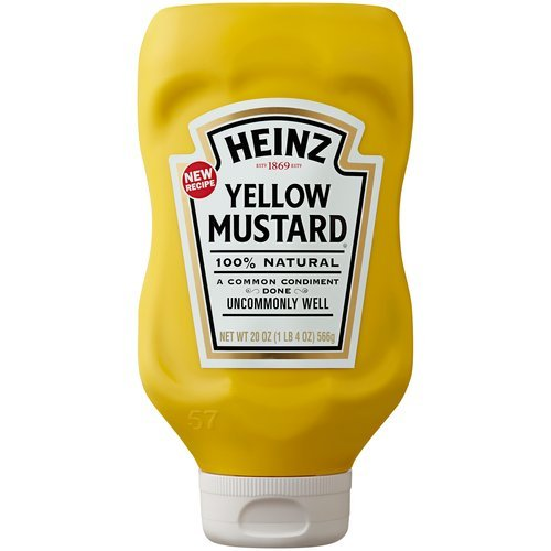 Heinz Yellow Mustard, 20 oz