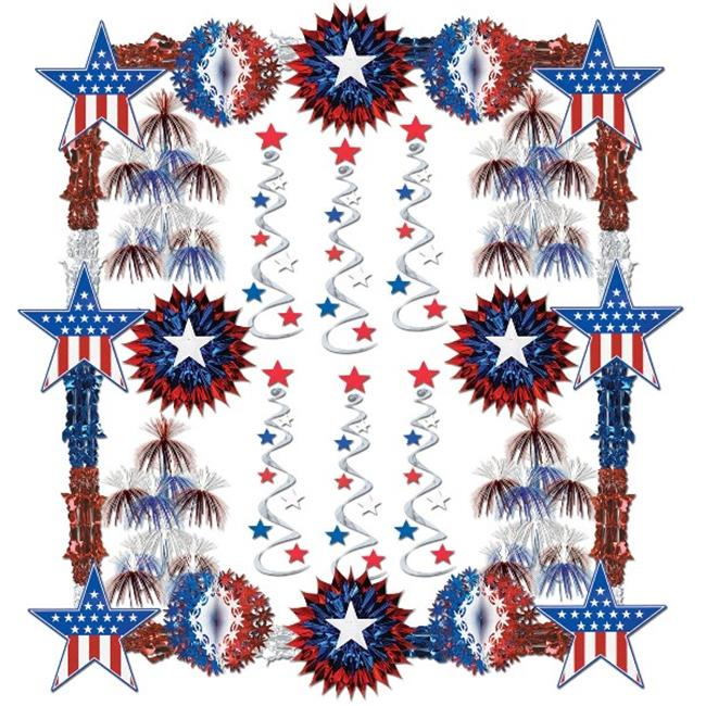 DDI 524019 Patriotic Reflections Decorating Kit - 28 Pcs  Case of 1