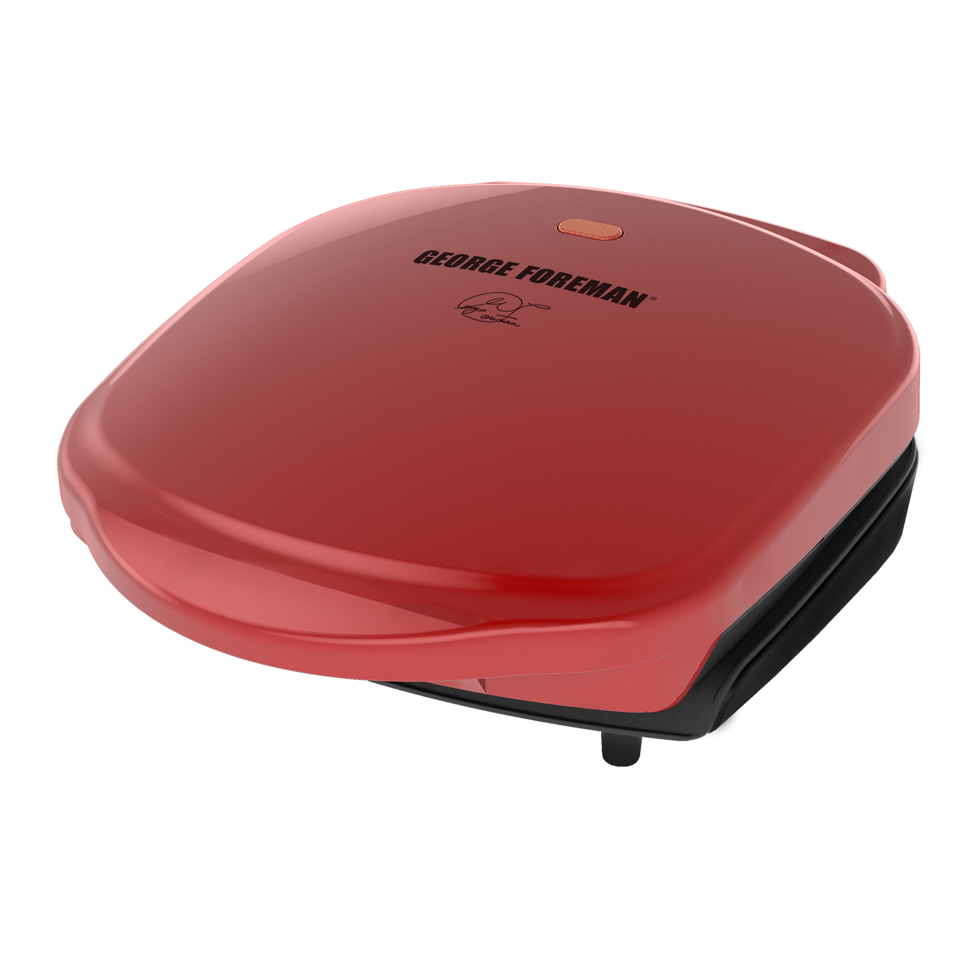 George Foreman 2-Serving Classic Plate Electric Indoor Grill and Panini Press Only $13.99