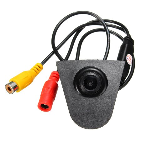 Car Front View CCD Camera Lens Waterproof Wide Degree Logo Embedded For Honda US - image 10 de 12