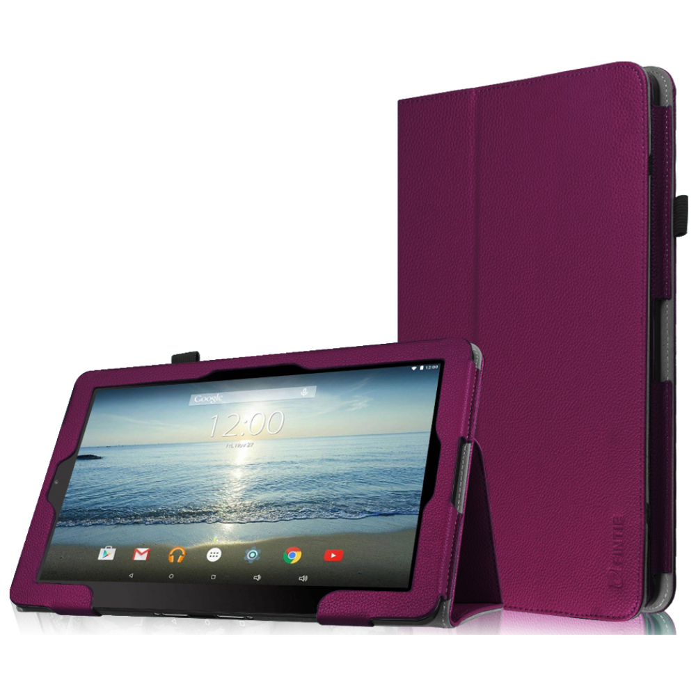 "Fintie RCA 10 Viking Pro / Viking II Folio Case Cover Compatible for Premier Atlas Pro-S 10.1"" Tablet, Purple"