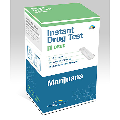 DrugConfirm Instant Drug Test, 1 Panel for Marijuana