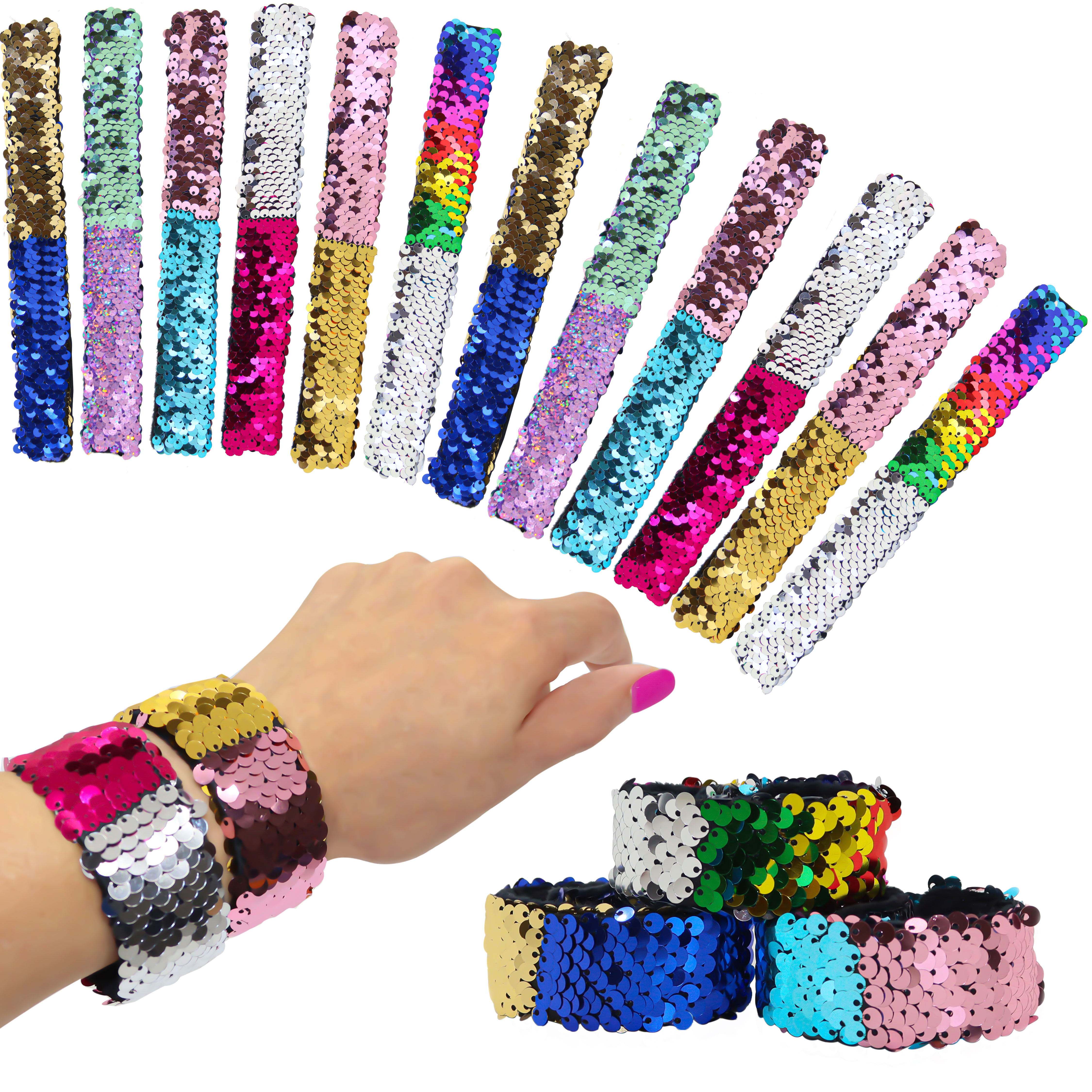 Slap Bracelets For S Kids Mermaid