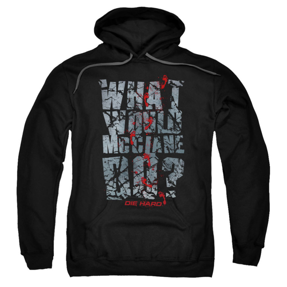 Die Hard Men's  Wwmd Hooded Sweatshirt Black