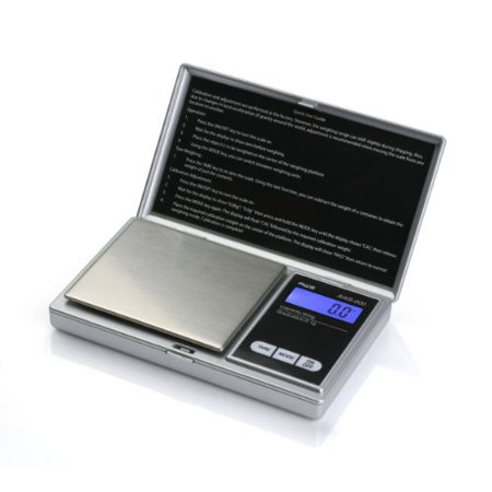 Aws Aws-600 Digital Pocket Scale - 1.32 Lb / 600 G Maximum Weight Capacity - Stainless Steel - Silver (Best Insten Pocket Scales)