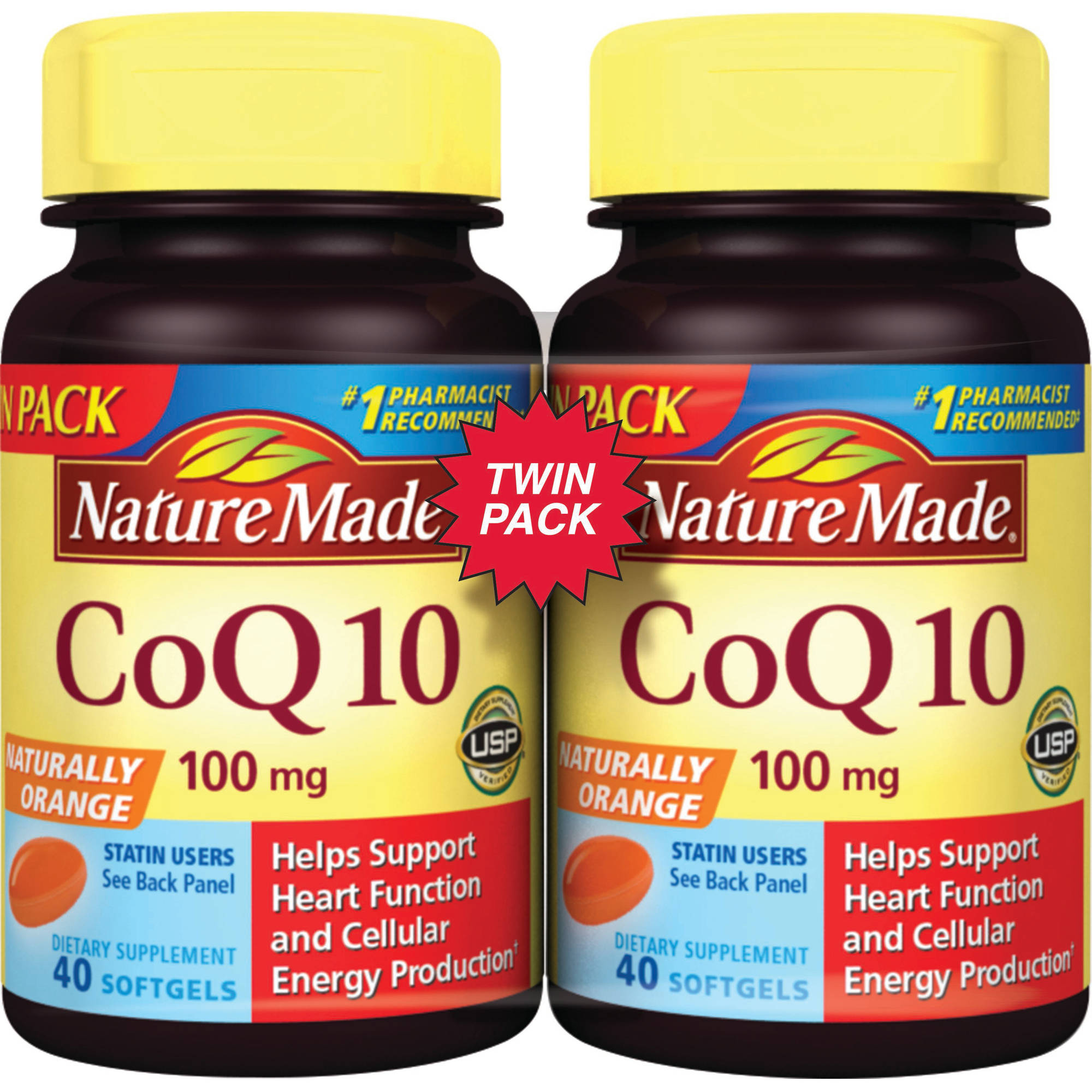 Nature Made CoQ10 Liquid Softgels, 80ct