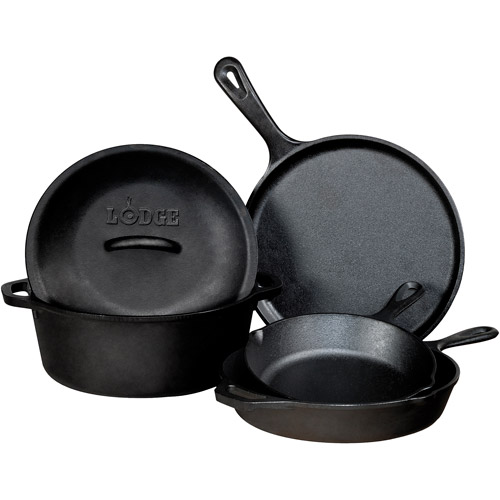 Lodge Logic 5-Piece Cast Iron Set