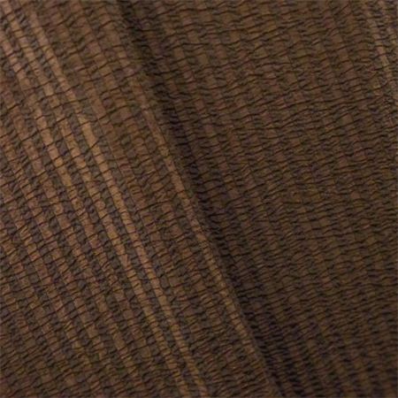 Chocolate Brown Seersucker Stripe Home Decorating Fabric, Fabric By the Yard