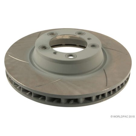 Sebro Slotted W0133-1922078 Disc Brake Rotor for Porsche (Disc Slotted Rotors)